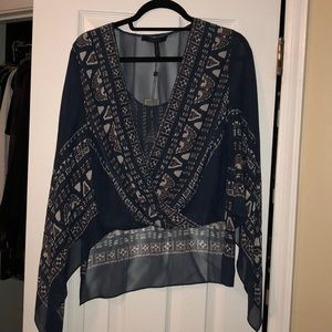 Brand new with tags bcbg Kasia shirt